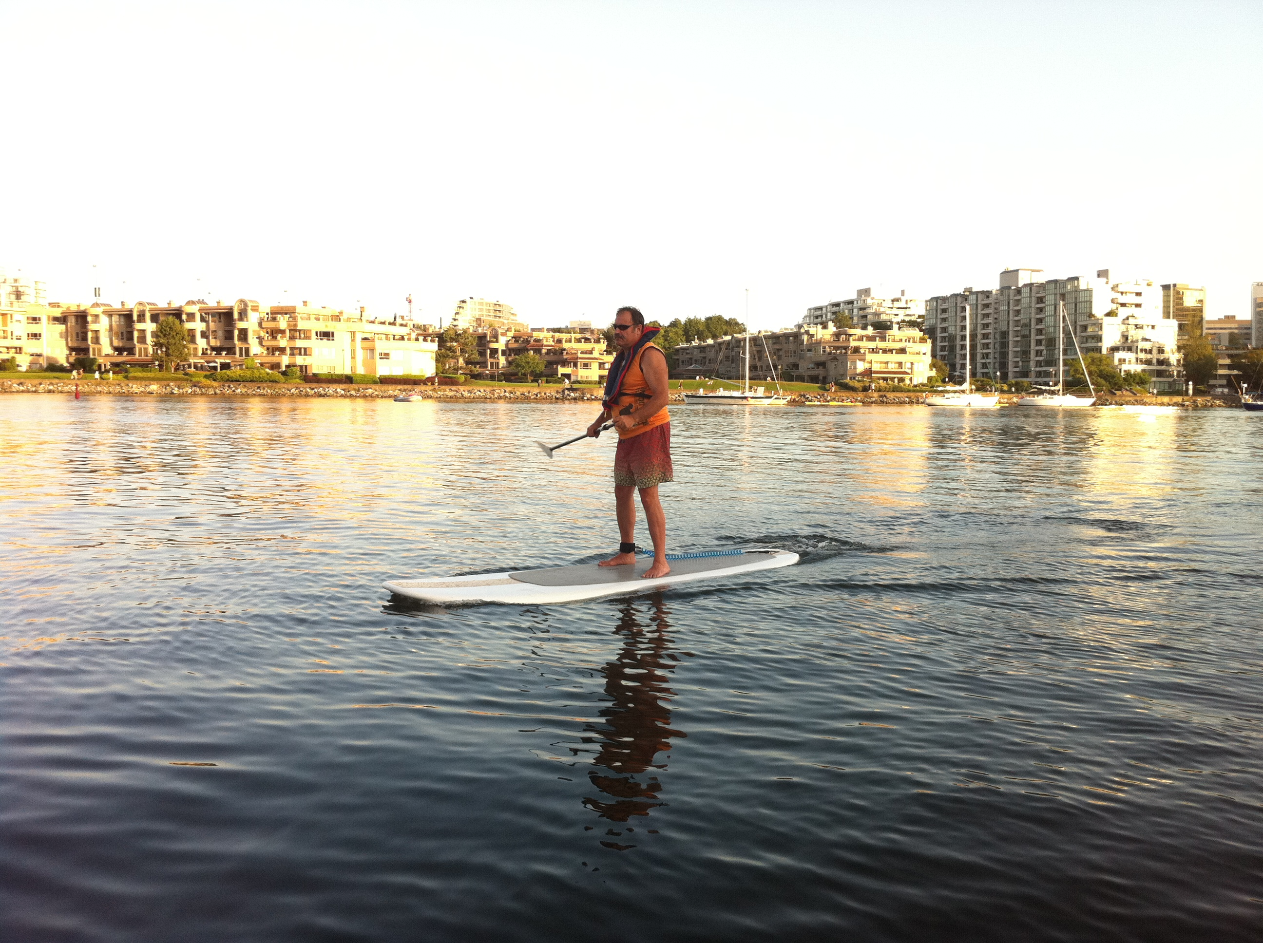 stand up paddle sufers i Vancouver